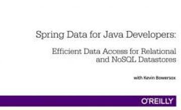 Spring Data для Java-разработчиков