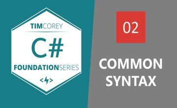 Основы C#: Распространенный синтаксис