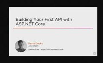 Создание API-интерфейса RESTful с ASP.NET Core