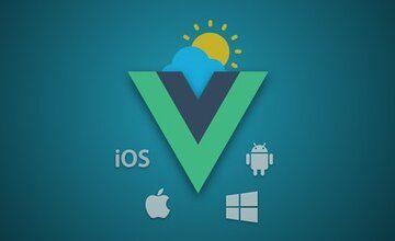 Приложение Weather с Vue JS и Quasar (Mobile, Desktop и Web)