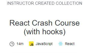 React, быстрый курс (с hooks)