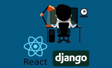 React и Django Full Stack: веб-приложение, бэкэнд-API, мобильные приложения