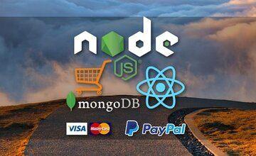 React Node FullStack - Ecommerce с нуля до развертывания