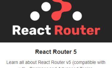 React Router 5