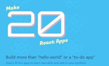 Сделайте 20 приложений React