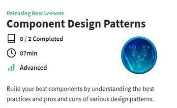 Шаблоны проектирования компонентов VUE