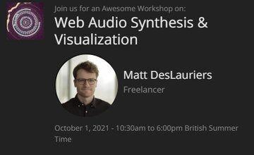 Синтез и визуализация Web Audio