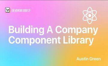 Создание библиотеки компонентов компании