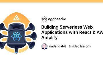 Создание Serverless веб-приложений с помощью React и AWS Amplify