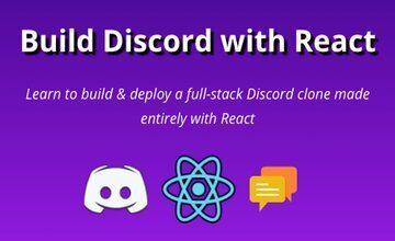 Создайте Discord с помощью React