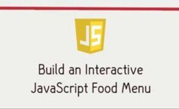Создайте интерактивное javascript меню