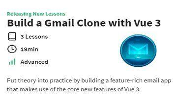 Создайте клон Gmail с помощью Vue 3