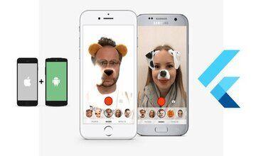 Создайте Flutter AR и AI Face Filters приложение (как Snapchat Filters)