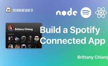 Создайте приложение, подключенное к Spotify