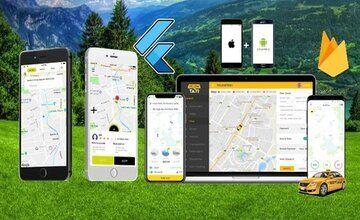 Flutter и Firebase: Создайте Собственное Приложение UBER