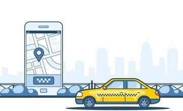 Такси приложение в React Native
