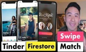 Tinder Firestore Swipe and Match