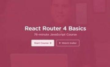 React Router 4 - Основы