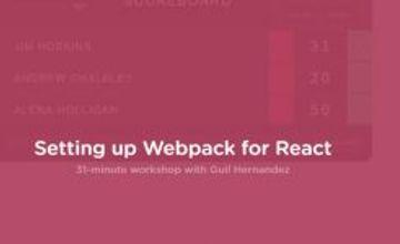 Настройка Webpack для React