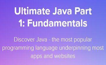 Ultimate Java часть 1: основы