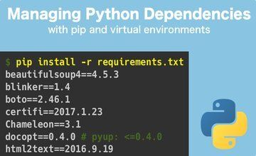 Управление зависимостями Python