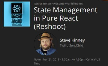Управления состоянием в чистом React (Reshoot)