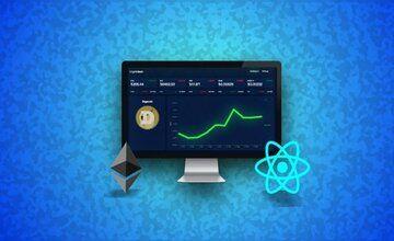 Визуализация данных с React - Создаем панель (Dashboard) криптовалюты