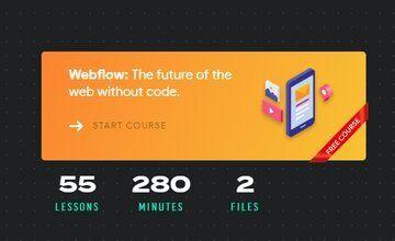 Webflow: Научитесь создавать сайты без кода