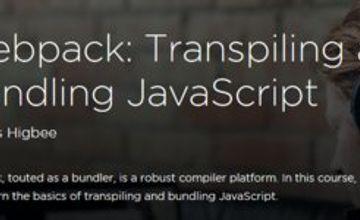 Webpack: транспилинг и бандлинг javascript