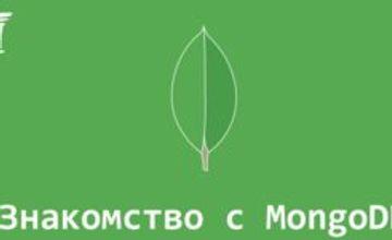 Знакомство с MongoDB (Воркшоп)
